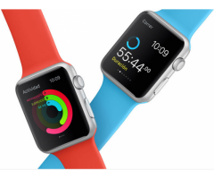 Apple Watch 38mm nuevos Celeste y blanco
