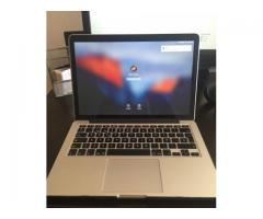 Macbook Pro Retina, 13-inch, Late 2013.